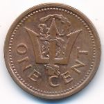 Барбадос, 1 цент (2008 г.)