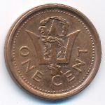 Барбадос, 1 цент (2010 г.)