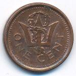 Барбадос, 1 цент (2011 г.)