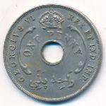 Британская Западная Африка, 1 пенни (1942 г.)