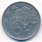 Намибия, 10 центов (1996 г.)