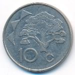 Намибия, 10 центов (1998 г.)