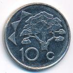Намибия, 10 центов (2012 г.)