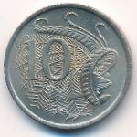 Австралия, 10 центов (1966 г.)
