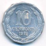 Чили, 10 сентаво (1979 г.)