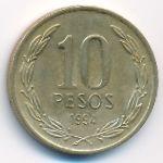 Чили, 10 песо (1994 г.)