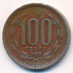 Чили, 100 песо (1986 г.)