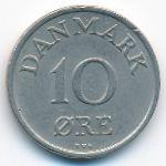 Дания, 10 эре (1954 г.)