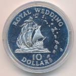 Восточные Карибы, 10 долларов (1981 г.)