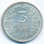 Веймарская республика, 3 рейхсмарки (1925 г.)