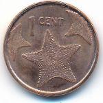 Багамские острова, 1 цент (2015 г.)