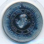 Барбадос, 10 долларов (1982 г.)