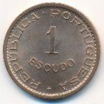 Тимор, 1 эскудо (1970 г.)