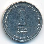 Израиль, 1 новый шекель (2007 г.)