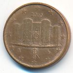 Италия, 1 евроцент (2010 г.)