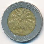 Индонезия, 1000 рупий (1993 г.)