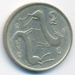 Кипр, 2 цента (1996 г.)