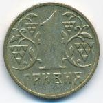 Украина, 1 гривна (2001 г.)