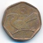 Ботсвана, 5 тхебе (2002 г.)