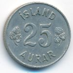 Исландия, 25 эйре (1963 г.)