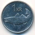 Исландия, 1 крона (2006 г.)
