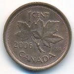 Канада, 1 цент (2006 г.)