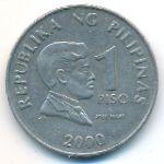 Филиппины, 1 песо (2000 г.)