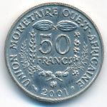 Западная Африка, 50 франков (2001 г.)