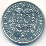 Западная Африка, 50 франков (2002 г.)