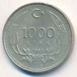 Турция, 1000 лир (1990 г.)