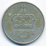 Норвегия, 1 крона (1974–1979 г.)