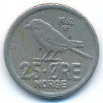 Норвегия, 25 эре (1962–1972 г.)