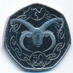 Остров Мэн, 50 пенсов (2020 г.)
