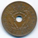 Родезия и Ньясаленд, 1 пенни (1955 г.)