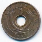 Восточная Африка, 5 центов (1963 г.)