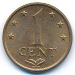 Антильские острова, 1 цент (1977 г.)