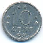 Антильские острова, 10 центов (1978 г.)