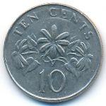Сингапур, 10 центов (1993 г.)