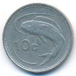 Мальта, 10 центов (1986 г.)