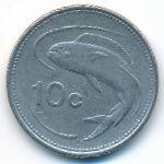 Мальта, 10 центов (1998 г.)