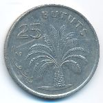 Гамбия, 25 бутут (1998 г.)