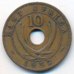 Восточная Африка, 10 центов (1952 г.)