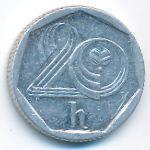 Чехия, 20 гелеров (1993 г.)