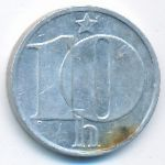 Чехословакия, 10 гелеров (1978 г.)