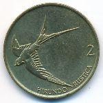 Словения, 2 толара (1995 г.)