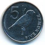 Замбия, 5 нгве (2012 г.)