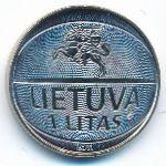 Литва, 1 лит (2011 г.)