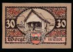 Нотгельды Австрии, 30 геллеров