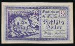 Нотгельды Австрии, 80 геллеров