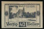 Нотгельды Австрии, 40 геллеров